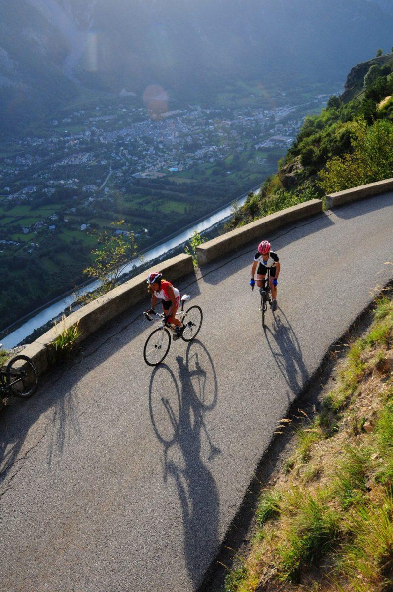 Cyclisme - La route de la Roche